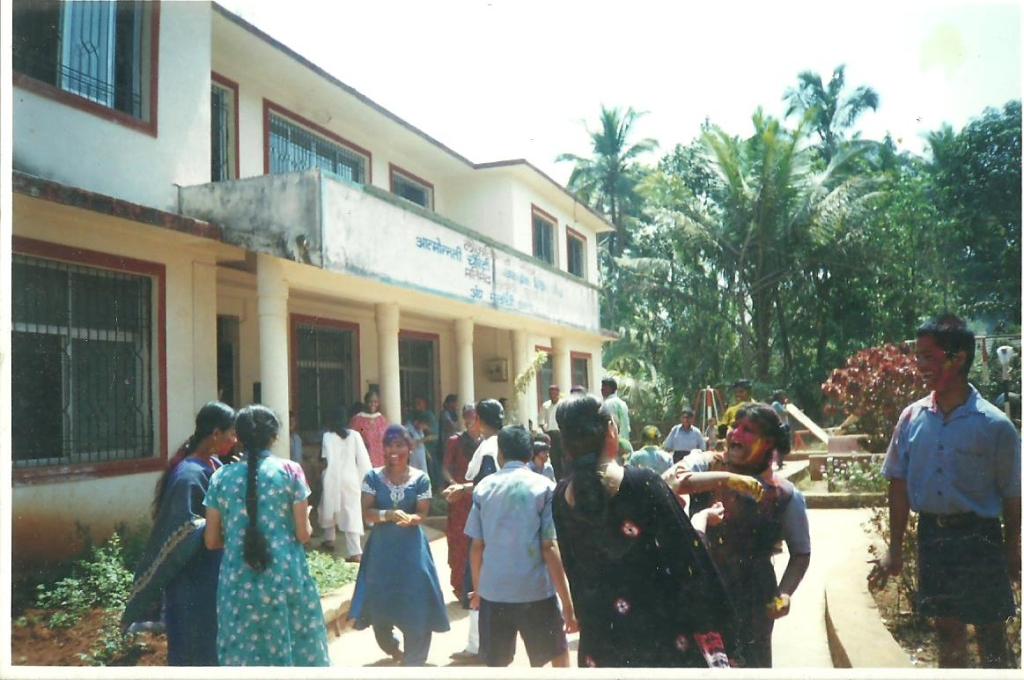 Special Children celebrating 'Rang Panchami'