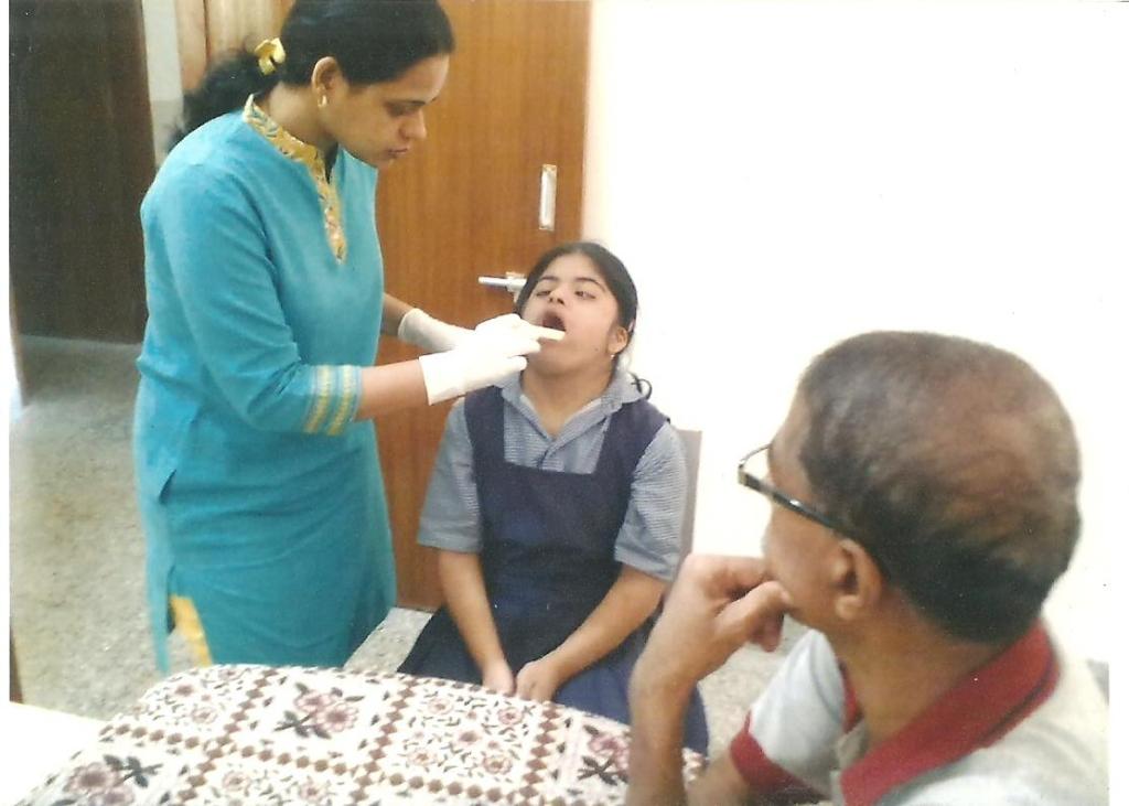 Dental Check up camp