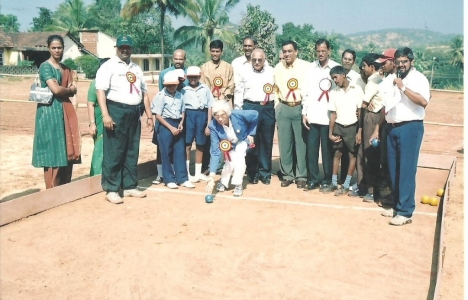 All Goa Bocce Competition for Special Schools organised by Lokvishwas Pratisthan
