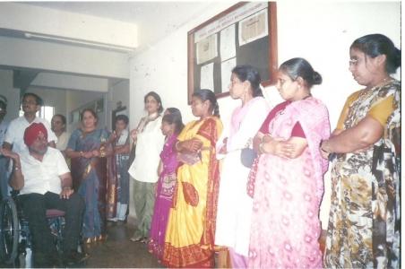 RCI Chairman Shri Ahluwali's visit to Lokvishwas Pratisthan