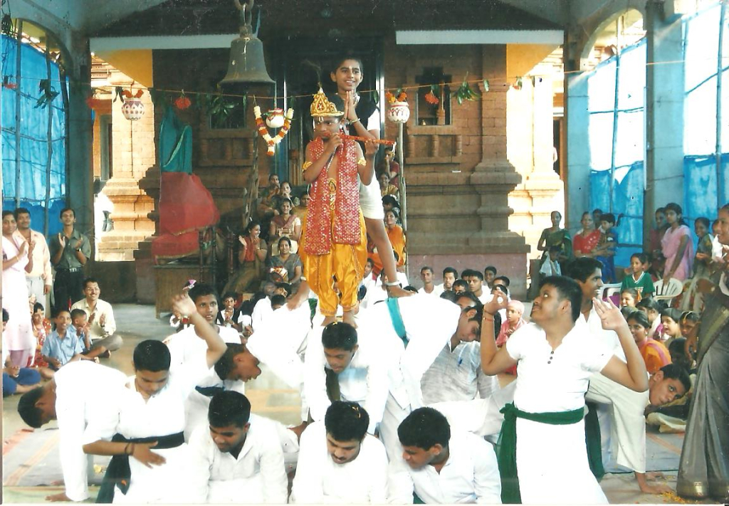 Dahi Handi (Gokulashthami) celebration